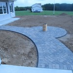 New Home Paver Walkway
